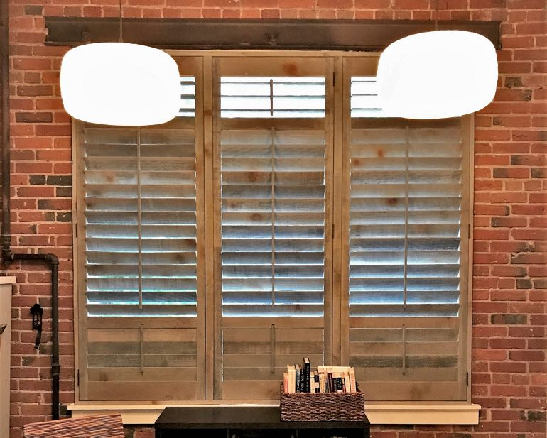 Reclaimed Wood Shutters In Orlando, FL