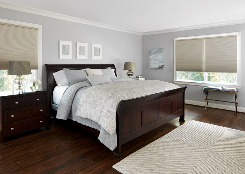 Orlando blackout shades bedroom