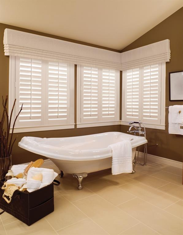 Bathroom Window Treatments | Sunburst Shutters Orlando