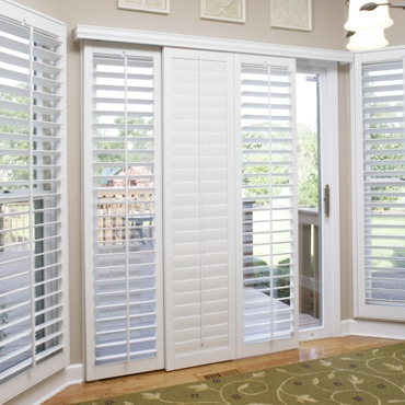 Orlando Patio Door Shutter Choices