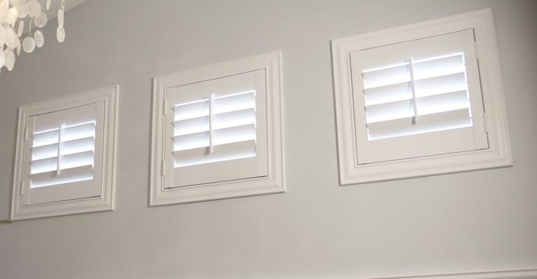 Family Room Window Treatments Shutters