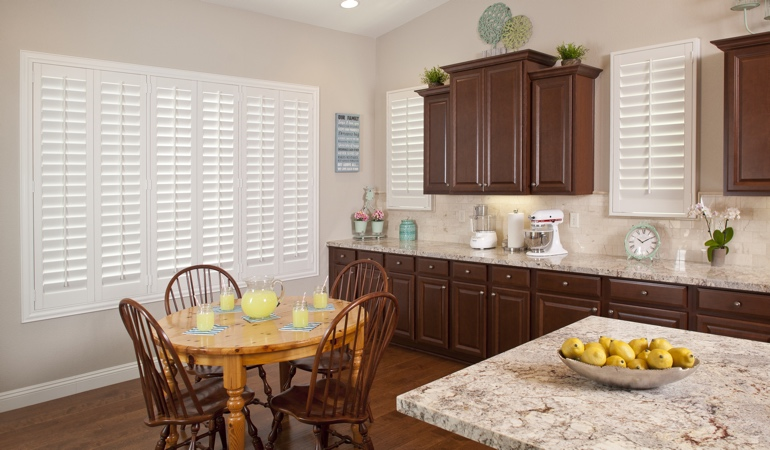 Polywood Shutters in Orlando kitchen