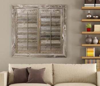 Reclaimed Wood Shutters Product In Orlando