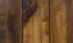 Stain and glaze finish for rustic barn doors