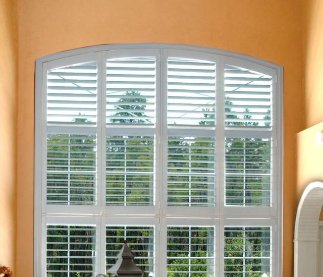 Arched Window Shutters In Orlando, FL
