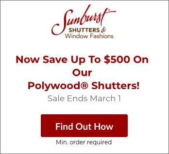 Sale on Orlando Polywood Shutters
