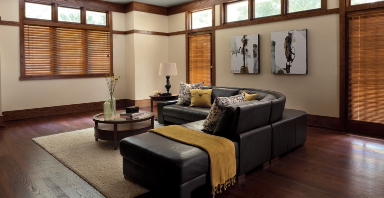 Orlando hardwood floor and blinds