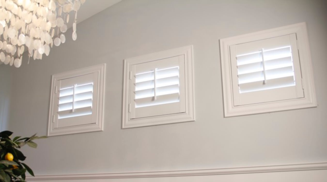 Orlando casement window shutters