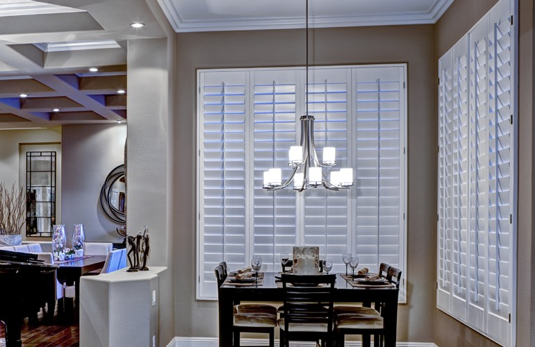 Dining Room Shutters In Orlando FL