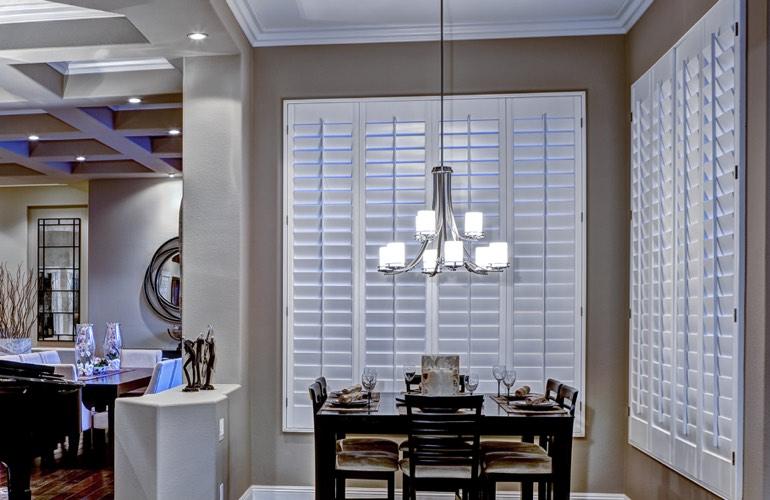 Dining Room Shutters In Orlando FL
