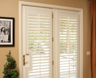 Orlando french door shutters