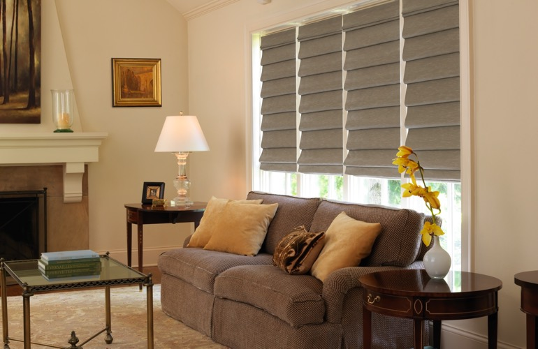 The Guide To Living Room Window Treatments In Orlando FL Sunburst Shutters