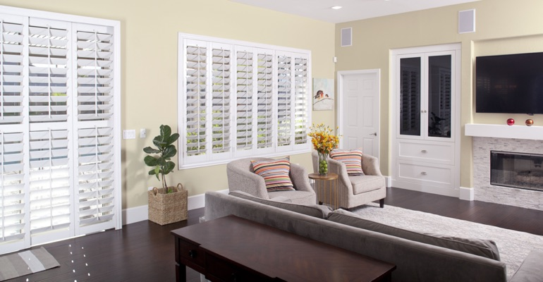 Cleaning Polywood plantation shutters in Orlando is a breeze