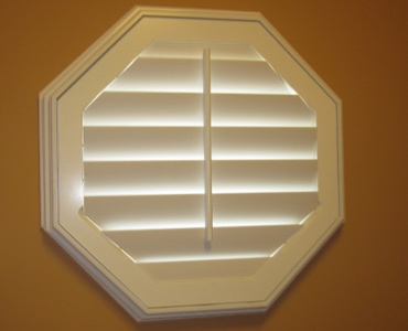 Orlando octagon window shutter