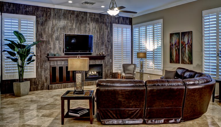 What Are The Different Types of Interior Shutters Sunburst