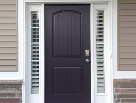 Front Door Sidelight Shutters